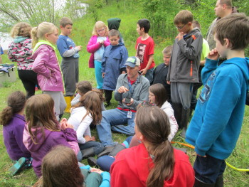 Teaching on Clough Island with Northern Lights Elementary